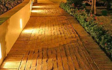 Освещение парков и скверов