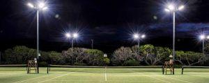 Освещение спортплощадок и кортов
